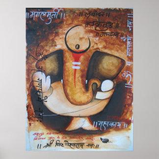 ganpati poster
