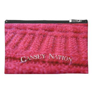 Gansey Nation zipped bag
