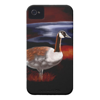 Ganso canadiense iPhone 4 Case-Mate protectores