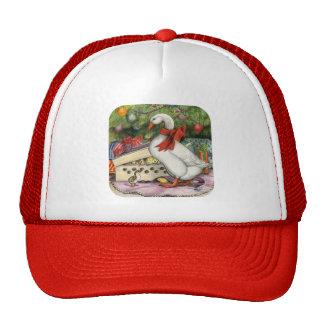 Ganso del navidad gorras de camionero