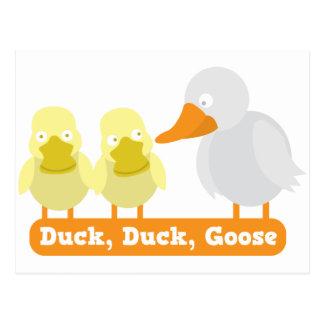 ganso del pato del pato postales