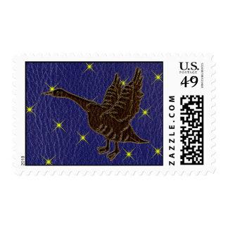 Ganso del zodiaco del nativo americano de la timbres postales