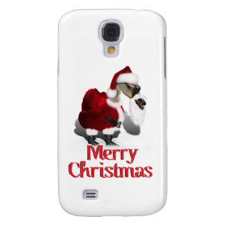 Ganso tonto de Santa - navidad palmído Funda Para Galaxy S4