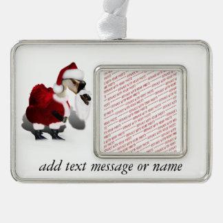 Ganso tonto de Santa - navidad palmído Adornos Navideños