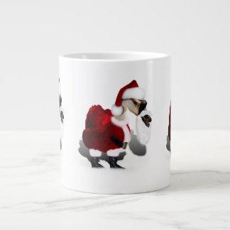 Ganso tonto de Santa - navidad palmído Taza Jumbo