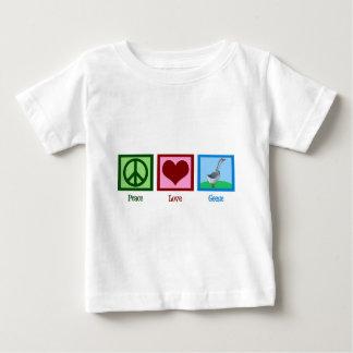 Gansos del amor de la paz playera