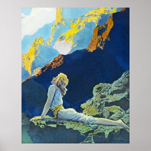 Gansos salvajes, por Maxfield Parrish Posters