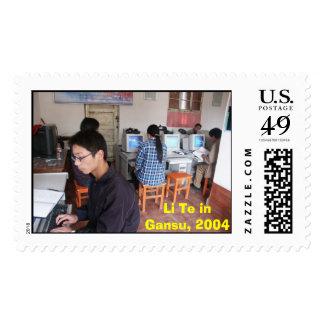 Gansu Li Te, Li Te in Gansu, 2004 Stamp