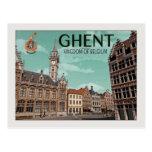 Gante - Korenmarkt Postales