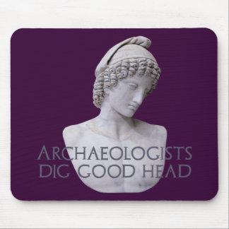 Ganymede Archaelogists Dig Good Head Mouse Pad
