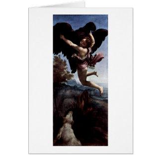 Ganymede By Antonio Allegri Da Correggio Cards