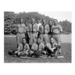 GAO del equipo de béisbol del PO, los años 20 Postales