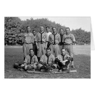GAO of the PO Baseball Team, 1920s Card