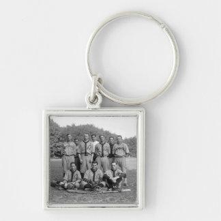 GAO of the PO Baseball Team, 1920s Keychain