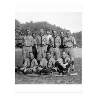 GAO of the PO Baseball Team, 1920s Postcard