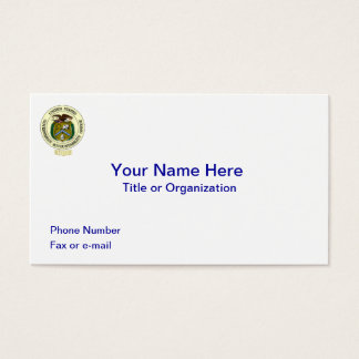 GAO Retired Business Card