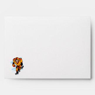 Gap Tooth Hocky Player Envelopes