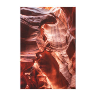 Gap torcido impresión en lienzo estirada