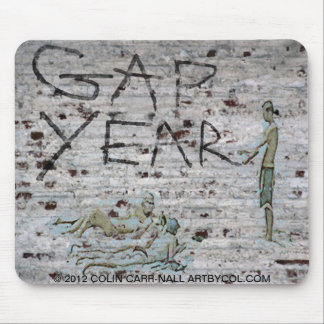 Gap Year Mousepad by Colin Carr-Nall