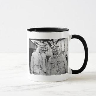 "Gar Wood and Orlin Johnson - Vintage ""Autographed"" Mug"