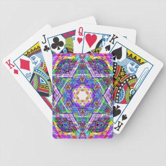 garabato del judaica… baraja cartas de poker