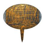 Garabato ilegible antiguo en la piedra figuras para tartas