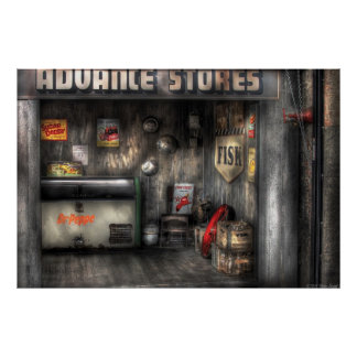 Garage - Advance Stores Posters