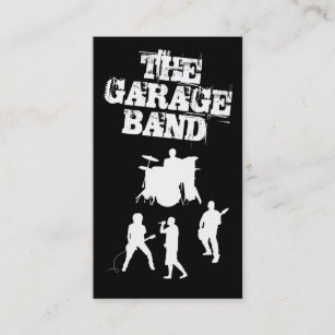 Band business cards templates zazzle garage band music business card colourmoves
