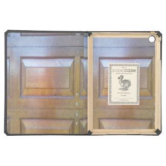 Garage door iPad air cases