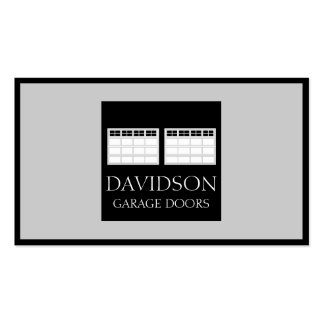 Garage Door Company Double-Sided Standard Business Cards (Pack Of 100)