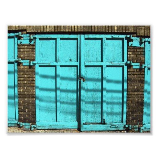 Garage door photo print zazzle for Garage prints