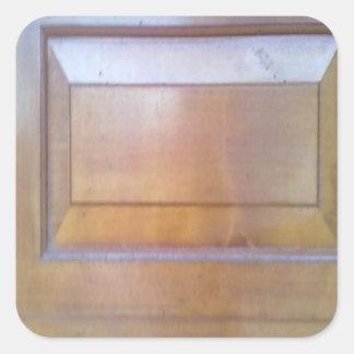 Garage door square sticker