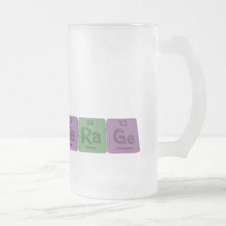 Garage-Ga-Ra-Ge-Gallium-Radium-Germanium.png Frosted Glass Beer Mug