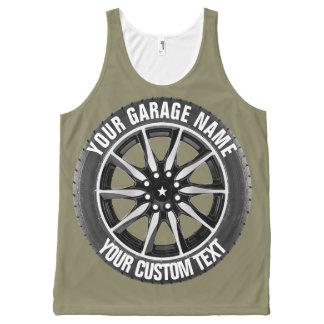 Garage Or Car Repair Owner Top All-Over Print Tank Top