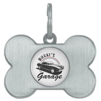 Garage Pet Tag
