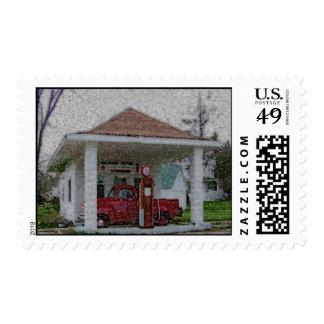 Garage Postage Stamp