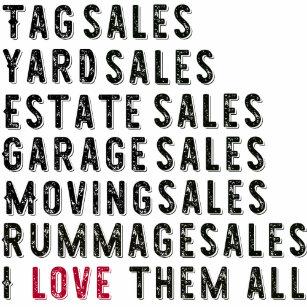 Garage Sale Gifts on Zazzle