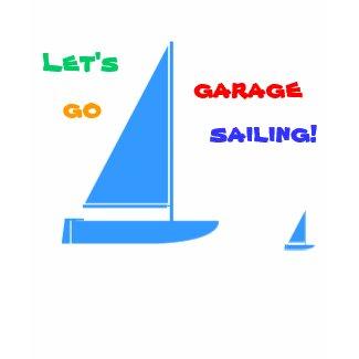 Garage Sailing zazzle_shirt