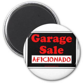 Garage Sale Aficionado 2 Inch Round Magnet
