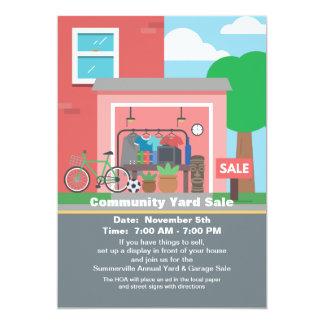 Garage Sale Announcement