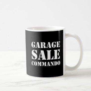 Garage Sale Commando Funny Coffee Mug