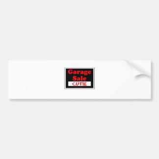 Garage Sale Cutie Bumper Sticker