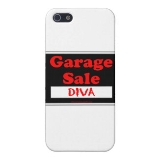 Garage Sale Diva Case For iPhone SE/5/5s