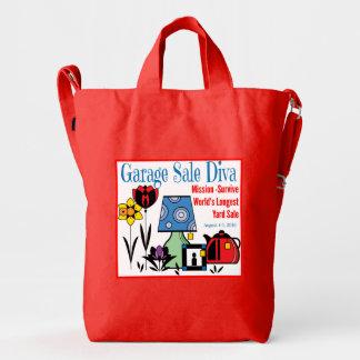 Garage Sale Diva Duck Tote Duck Bag