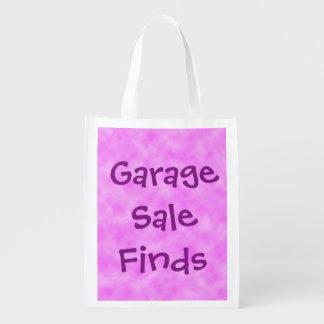 Garage Sale Finds Reusable Folding Tote Bag Market Tote