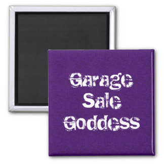 Garage Sale Goddess 2 Inch Square Magnet