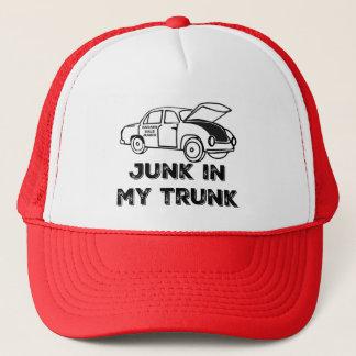 Garage Sale Junkie Junk in My Trunk Trucker Hat