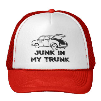 Garage Sale Junkie Junk in My Trunk Trucker Hat
