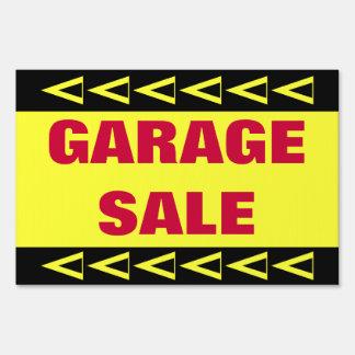 Garage Sale Lawn Sign