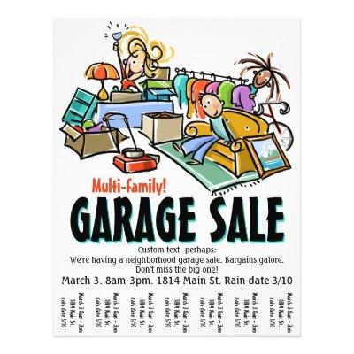Yard Sale Flyer | Zazzle
